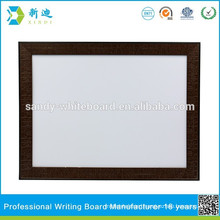 Beautiful frame metal whiteboard home supply