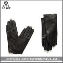 ZF5668 atacado inverno moda vestido de couro luvas de mão