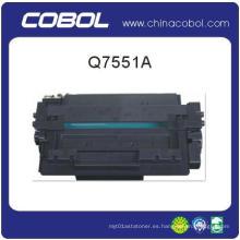 Cartucho de tóner de impresora láser HP para C7551A