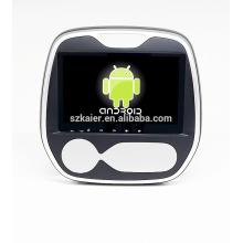 Android 4.4 Plein écran tactile voiture dvd GPS pour captur 2015 + qual core + OEM + usine directement!