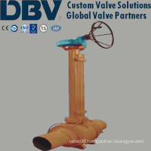 Q Full Welded Trunnion Pipeline Ball Valve