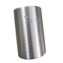 Stahlhülse mit 36 mm Bewehrungskupplung