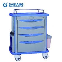 SKR055-MT Medical Equipment Hospital ABS Enfermería Clinical Trolley