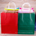 Wholesale Logo Printed Retail Custom Kraft Paper Shopping Bag