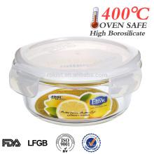 Hot sale airtight microwave glass bowl