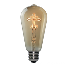 Fashion led Light Bulb Vintage Heart Lamp