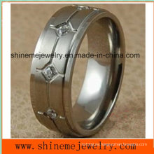 Venta al por mayor Titanium 316L anillos de acero inoxidable (TR1819)