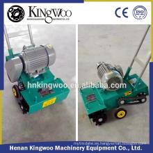 Máquina manual de limpieza de barrido de suelos de hormigón