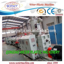 Plastic HDPE PP PPR pipe production line plant machine
