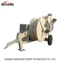 Équipement de tirage de câble de roue de tension de 1500mm