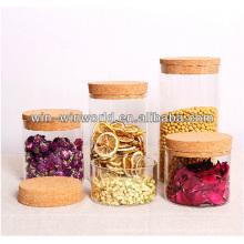 Heißer verkaufender runder Borosilikatglas-Nahrungsmittelbehälter
