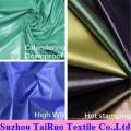 100 % polyester 170 t Taffeta190t taffetas pour tissu de doublure de vêtement
