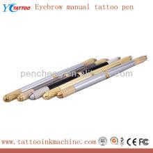 Caneta de tatuagem manual semi-permanente de maquiagem de sobrancelha