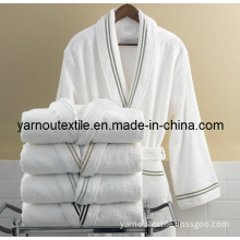 100%Cotton Hotel Bathrobe and Towel Wrap for Adults