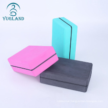 dasheng Manufacturer colorful EVA foam custom cheap yoga blocks and yoga strap