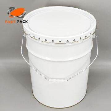 Seaux vides de 20 litres pour peinture et diluant