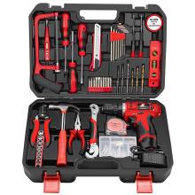 Juego de herramientas de taladro eléctrico inalámbrico para el hogar herramientas de hardware