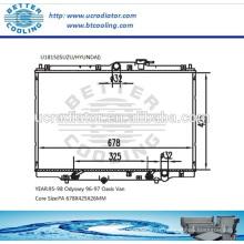 Radiador para 96-97 Oasis Van / 95-98 Odyssey OEM: 19010P1EA51 / 19010PEA901