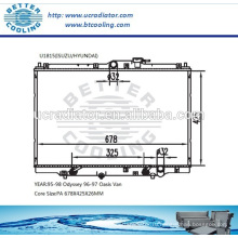 Радиатор для 96-97 Oasis Van / 95-98 Odyssey OEM: 19010P1EA51 / 19010PEA901