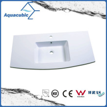 High Qaulity Artificial Stone Single Bowl Polymarble Basin