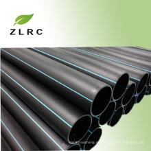 Diámetro del tubo de hdpe de 12 pulgadas de gran diámetro de la fábrica para el sistema de alcantarillado
