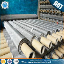 Malha de arame tecida nichrome de 80 100 malhas para a lista de preços do produto químico e da construção naval