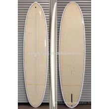 2016 Hot!!!! wooden veneer epoxy resin fiberglass SUP paddle board /sup fiberglass stand up paddle board