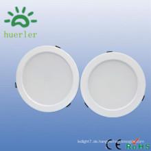 Neue weiße runde Form schlanke 100-240v 110v 22v 230v 6 Zoll smd5730 15w führte auf und ab Licht