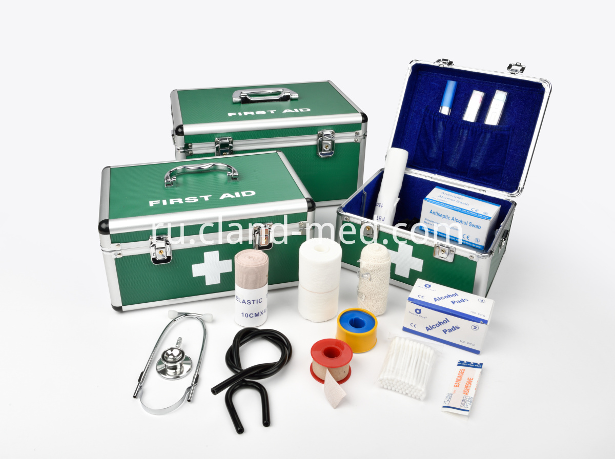First aid kits and parts