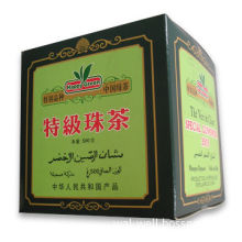 Highly Processed Green Tea with Heavy Rolling and Long Pan-firing of Upto 8 Hours/Batch
