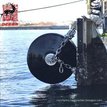 Deers marine foam filled boat dock fender with dia 1200mm*2000mm