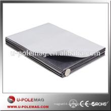 A4 Tamaño 0.5mm autoadhesivo hoja magnética flexible