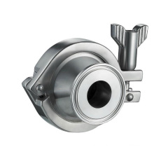 dn10 welded or clamped cf8m check valve