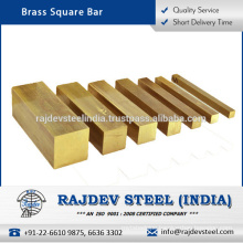 Best Grade Quality Brass Square Bar from Reputed Manufacturer at Low Price