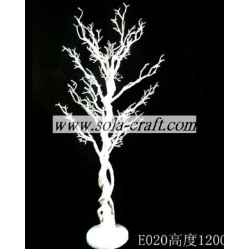 120 CM PE Plastic Holiday Crystal Garland Tree met tak