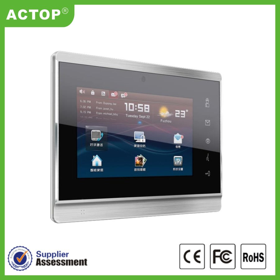 ip video door phone indoor screen