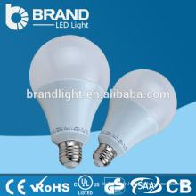 High Brightness Plastic + Aluminium 9W E27 A19 Lampe à LED, CE RoHS