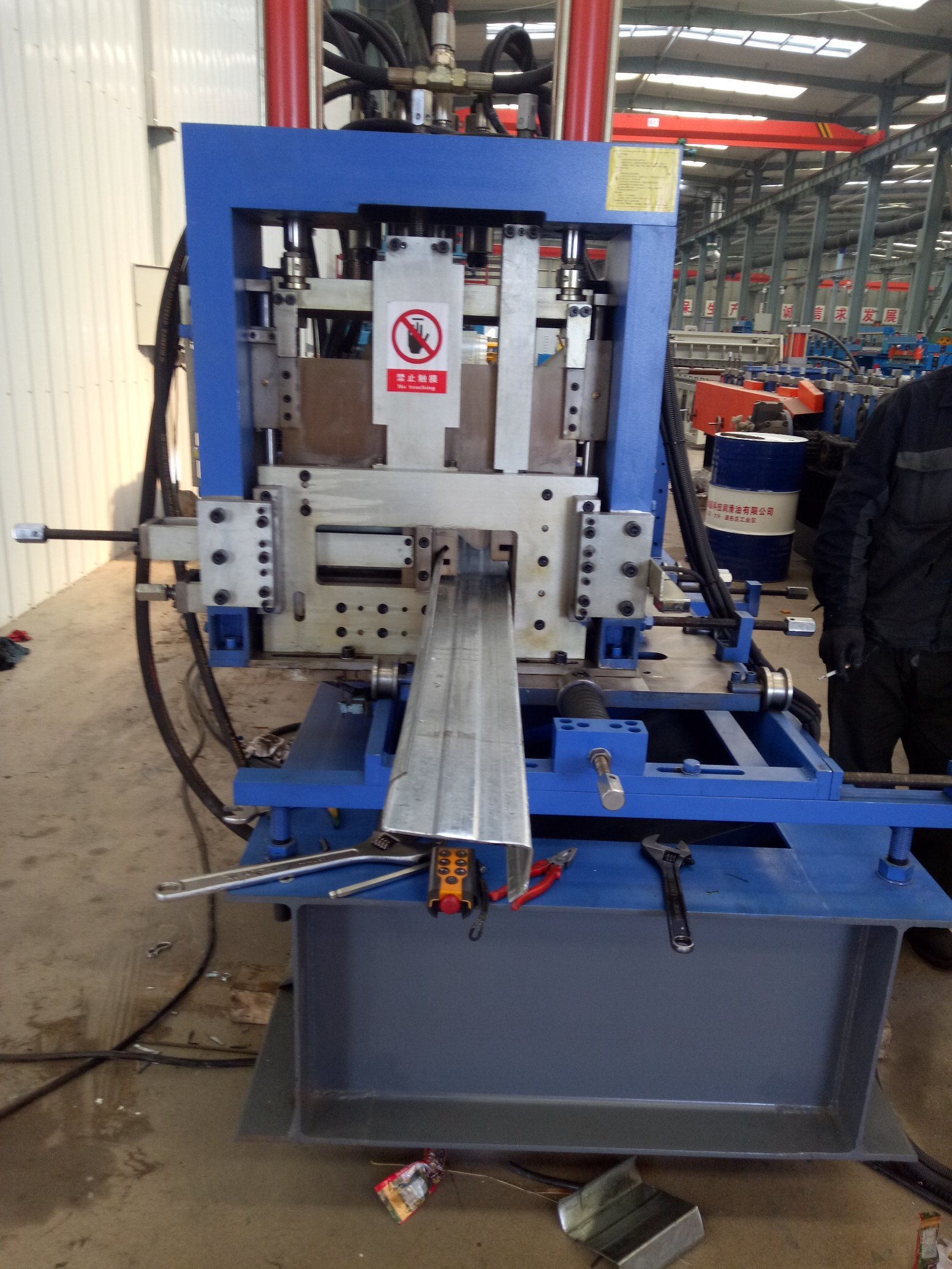 Purlin de CZ faisant la machine pour la structure de construction
