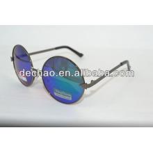 2014 rond lense aviator lunettes de soleil polarisées