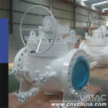 Wcb/CF8/CF8m RF Ends Top Entry Ball Valve with Gear Operated