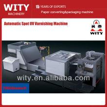 Máquina de barniz UV de alta velocidad