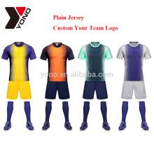 2017 wholeasle preço de fábrica barato thai qualidade camisa de futebol jérsei de futebol da juventude personalizado uniforme de futebol