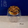 Grabado de 220ml Aroma difusor vidrio botella con tapa de plástico
