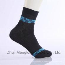 Clássico e moda empresário algodão meias vestido casual algodão meias feitas de algodão fino