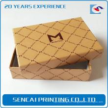 Caja de empaquetado hecha a mano modificada para requisitos particulares del papel del teléfono móvil de los productos electrónicos 2017