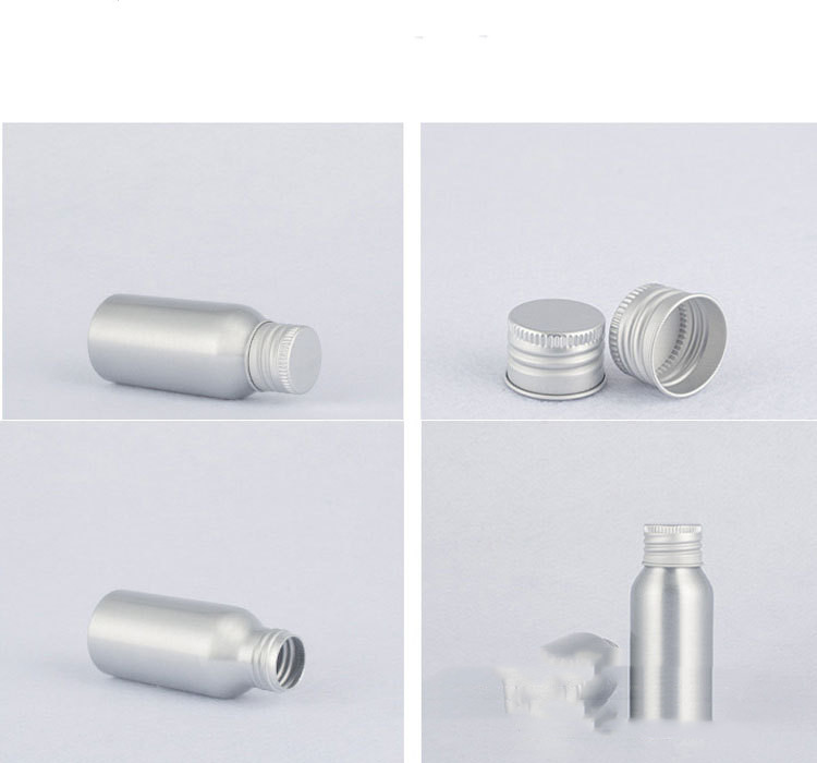 Aluminum bottle cosmetic bottle with aluminum cap screw (9)