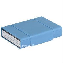 """2,5 """"e 3,5"""", estojo HDD, HDD caixa de proteção, HDD estojo externo, protetor HDD, caixa de armazenamento HDD"""