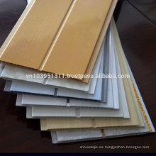 Varios diseños como requisito, tratamiento de superficie de impresión Panel de techo de PVC de hoja hueca para decoración
