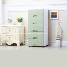 Plastic Cabinet Baby Storage Drawer for Bed Room