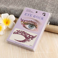 No tóxico Promo de papel de la etiqueta engomada del tatuaje del partido de encargo floral no tóxico Temporal cara temporal etiqueta engomada del tatuaje del ojo